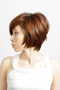 髪型カタログ40代からのショートスタイル