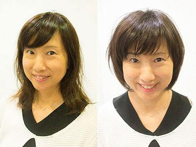 40代くせ毛の髪型