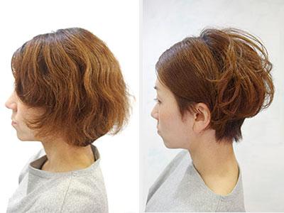 くせ毛 を生かしたヘアスタイル くせ毛をいい感じにしたい東京の美容室