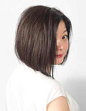 大人の東京の美容室のヘアスタイル ボブ1