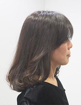 40代髪型アレンジビフォア