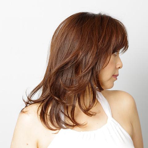 40代 髪型 艶ロング2