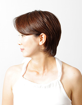 大人の東京の美容室のヘアスタイル ショート6