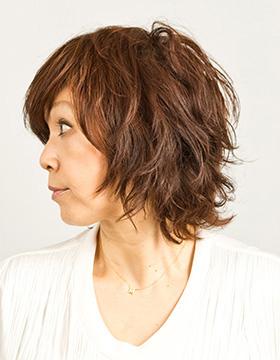 大人の東京の美容室のヘアスタイル ミディアム1