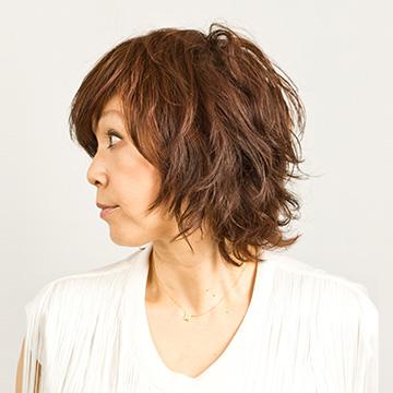 40代ミディアムヘア髪型