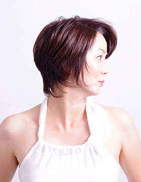 40代の髪型ショート4