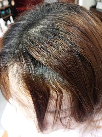 くせ毛前髪1