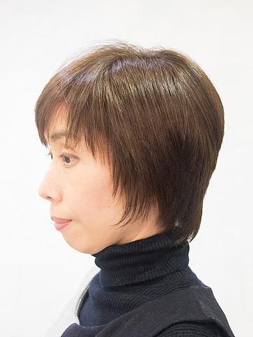 ショートカットのくせ毛を縮毛矯正