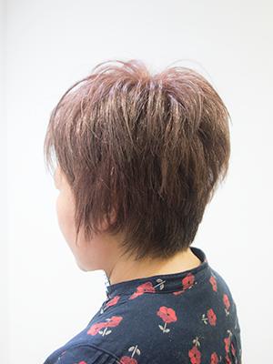 1年ぶりに髪をバッサリ
