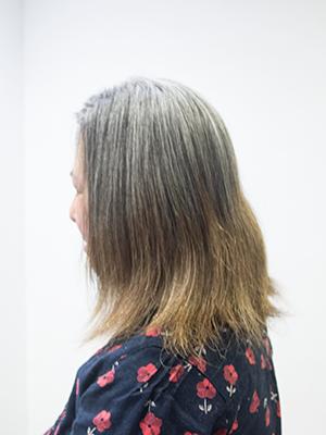 1年間髪伸び放題