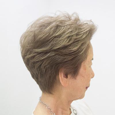 白髪染め頻度