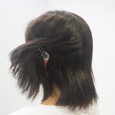 縮毛矯正毛先のパサつき1