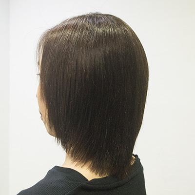 縮毛矯正の毛先しっとり3