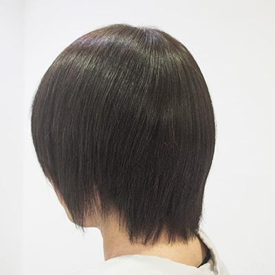 多い髪の縮毛矯正3