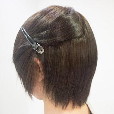 多い髪の縮毛矯正2