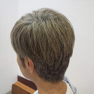 東京の美容室が発信するオシャレ白髪ぼかし2ヶ月後1