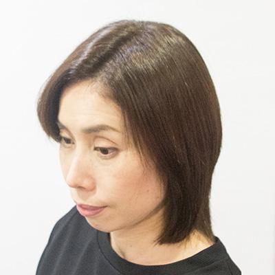 明るい白髪染めがオススメの東京の美容室アフター