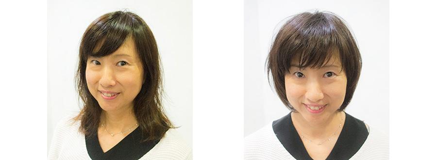 東京原宿の美容室が40代の髪型をイメチェン