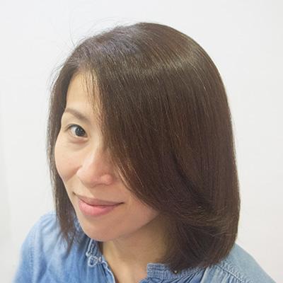 明るい白髪染めがオススメの東京の美容院アフター