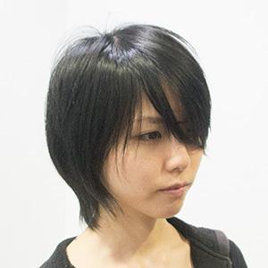 初めてのパーマの髪型ビフォア