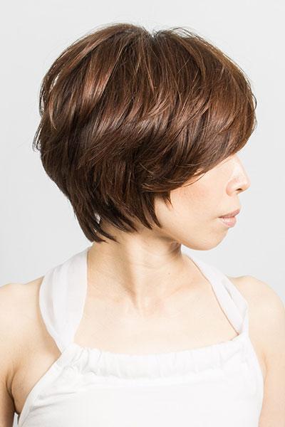 40代からの大人の女性に人気のヘアスタイル|エレガントなショートカットの髪型
