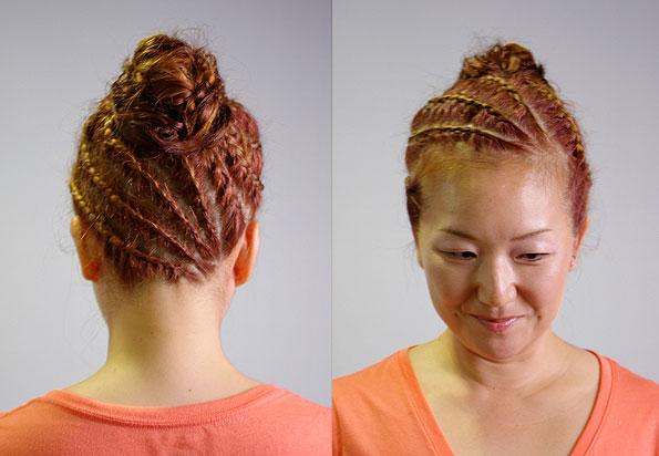 崩れないヘアアレンジ