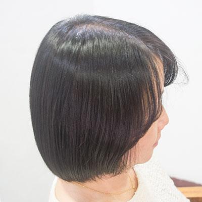 ヘナで髪がツヤツヤになったトリートメント実例