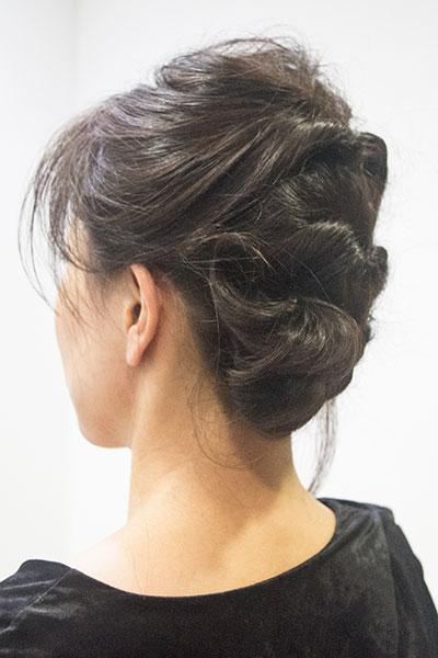 30代からの大人の女性に人気のヘアアレンジ|簡単くるりんぱ