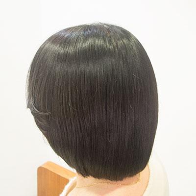 ヘナで髪にハリが出た実例