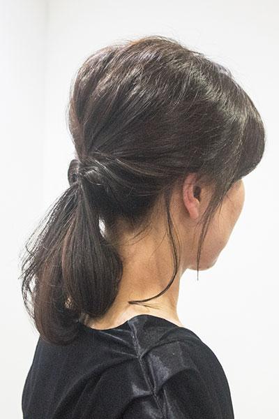 30代からの大人の女性に人気のヘアアレンジ|簡単ポニーテール