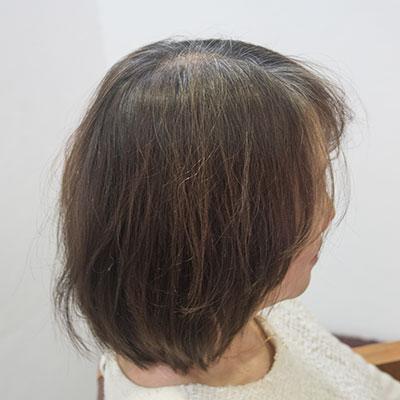 ヘナで髪にハリコシが出て良くなったトリートメント実例