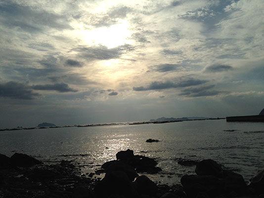 宇和島の空