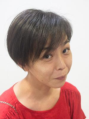 くせ毛のおさまる長さの髪型ショート