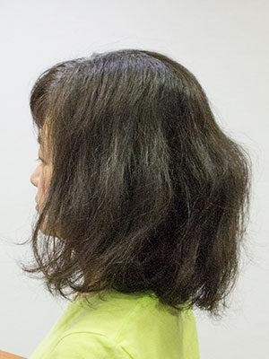 くせ毛で多毛