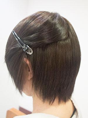 太いくせ毛の自然な縮毛矯正する東京の美容室yippee