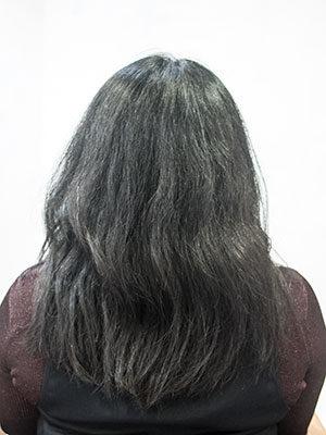 強いくせ毛は縮毛矯正で