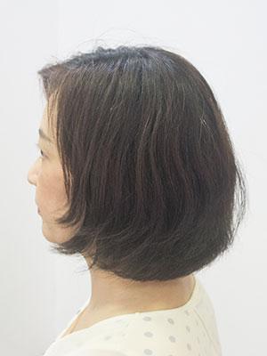 くせ毛をストレートパーマ