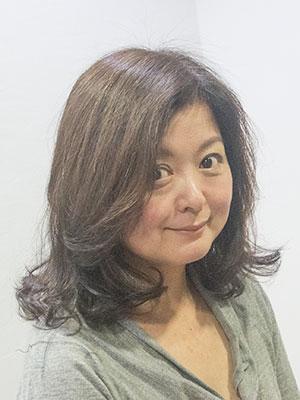 50代ヘアスタイル髪型ロング