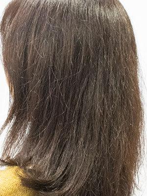 紫外線で髪が傷む光老化
