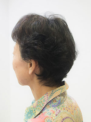 髪の細いくせ毛