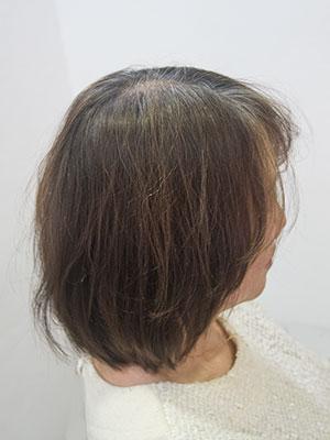50代のツヤのない髪