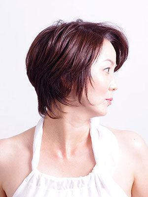 40代からの女性に人気のヘアスタイル|かっこいいショートカット