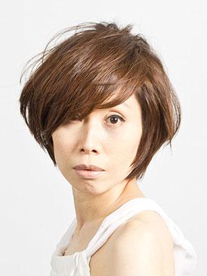 40代50代女性の髪型ツヤのあるショートカット