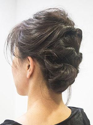 40代50代女性に人気の若々しいヘアアレンジ簡単くるりんぱ