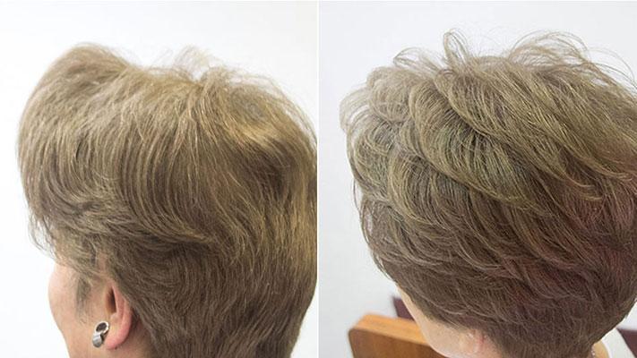 明るくて粋な白髪染めマットベース