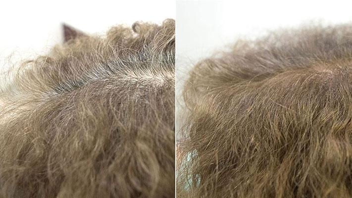 明るい白髪染めナチュラルベース