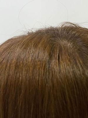 40代の暗い白髪染めを明るくする根元も明るく