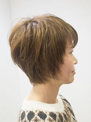 冬にバッサリ髪を切る理由アフター
