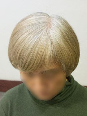 欧米人風白髪染めカラービフォー