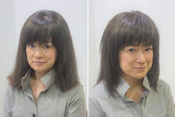 40代の髪型春のマイナーチェンジ
